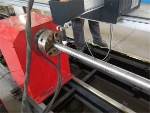 2017 Mesin mesin pemotong Pipa Plasma Logam Anyar, mesin nglereni tabung logam CNC