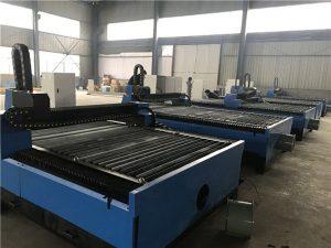piring logam china sheet cnc plasma pemotong / mesin pemotong plasma 1325 kanggo baja stainless