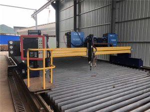 China Ukuran Gedhe Mesin Motong Plasma Plancong Gantry CNC