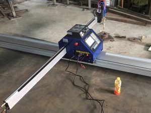 China Murah mesin pemotong plasma logam 15002500mm logam portable CN kanthi CE