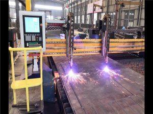 Double Gantry CNC Plasma Cut Cut Machine H Beert Production Line Hypertherm CNC System