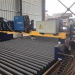 mesin pemotong gantry cnc pindho dobel nglereni garis produksi baja / rasuk solid