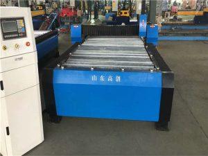 Heavy tugas cnc pipa tabung mesin pemotong plasma logam kanggo stainless steelcarcar steeliron