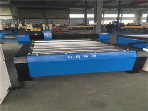 Mesin nglereni CNC sing anyar dirancang kanggo mesin logam CNC Plasma Cutting