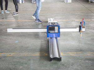 Micro teknologi anyar CN pemotong logam CNC / mesin pemotong plasma cnc portabel