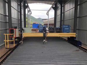 Mesin Cutting CNC Plasma tliti Akurat 13000mm Kanthi Servo Motor