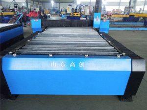 cnc plasma nglereni piring logam mesin cilik kanggo nggawe dhuwit / mesin nglereni plasma cnc